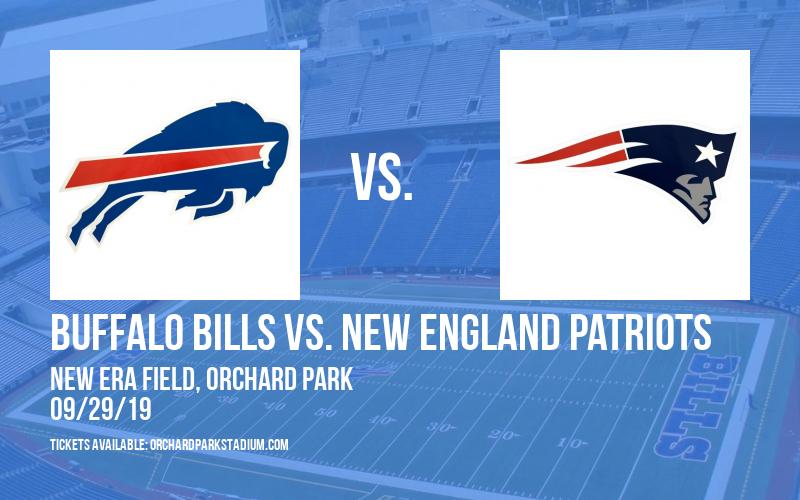 Buffalo Bills vs. New England Patriots at New Era Field