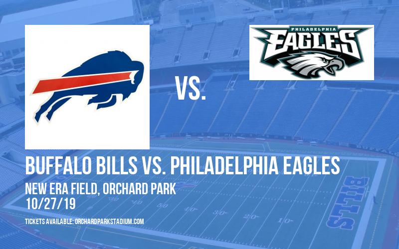 PARKING: Buffalo Bills vs. Philadelphia Eagles at New Era Field