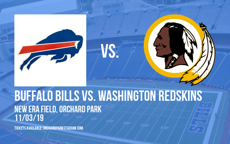 Buffalo Bills vs. Washington Redskins at New Era Field