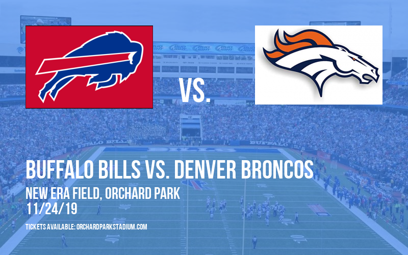 PARKING: Buffalo Bills vs. Denver Broncos at New Era Field