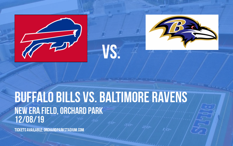 Buffalo Bills vs. Baltimore Ravens at New Era Field
