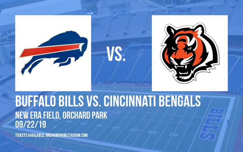 Buffalo Bills vs. Cincinnati Bengals at New Era Field
