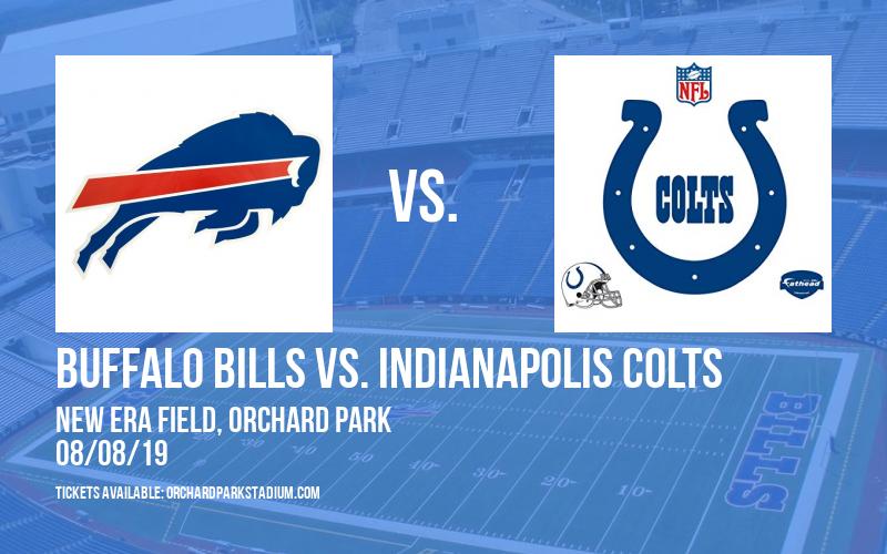 NFL Preseason: Buffalo Bills vs. Indianapolis Colts at New Era Field