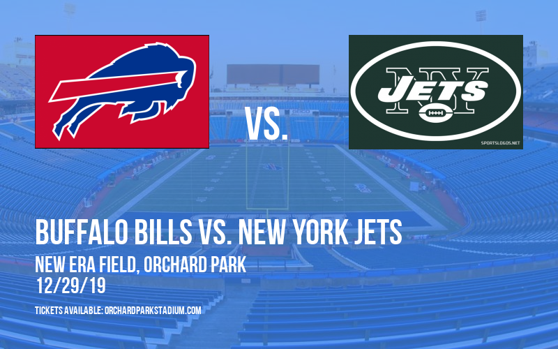 Buffalo Bills vs. New York Jets at New Era Field