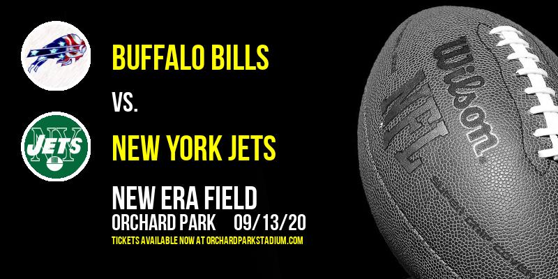 Buffalo Bills vs. New York Jets at New Era Field