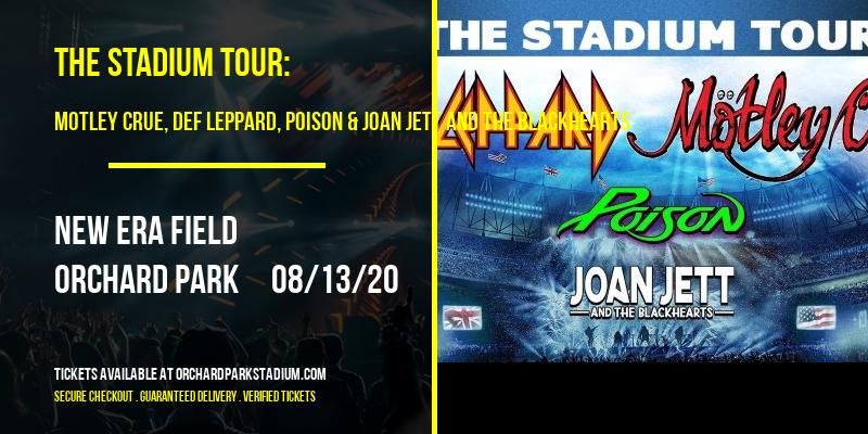 The Stadium Tour: Motley Crue, Def Leppard, Poison & Joan Jett and The Blackhearts at New Era Field