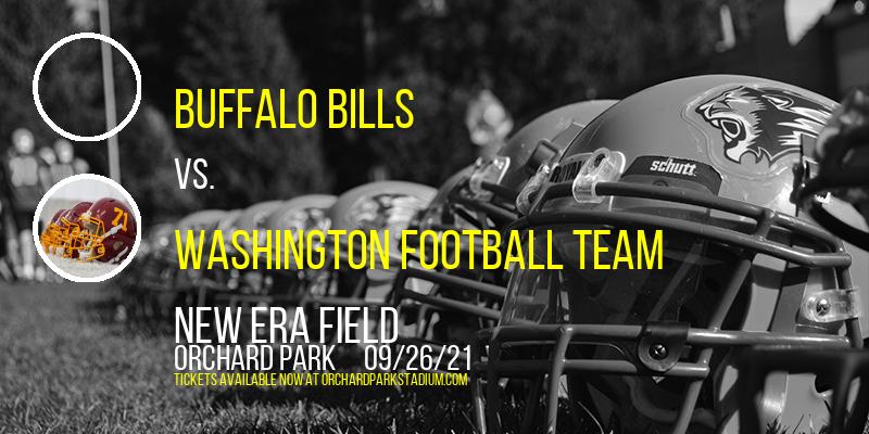 Buffalo Bills vs. Washington Football Team at New Era Field