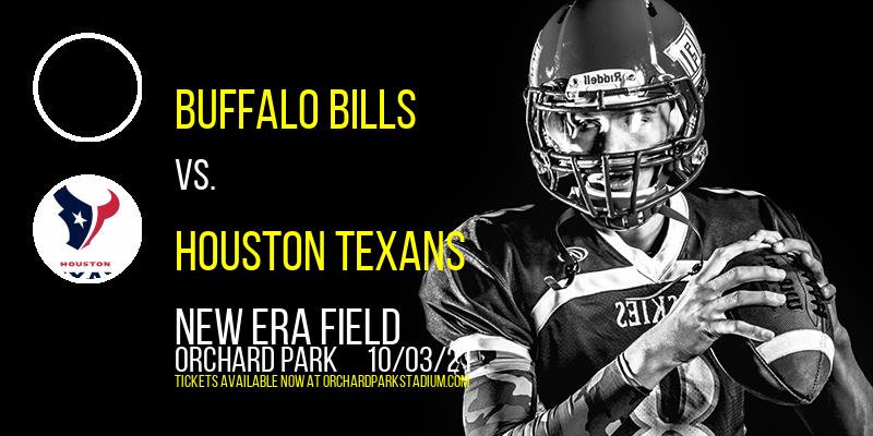 Buffalo Bills vs. Houston Texans at New Era Field