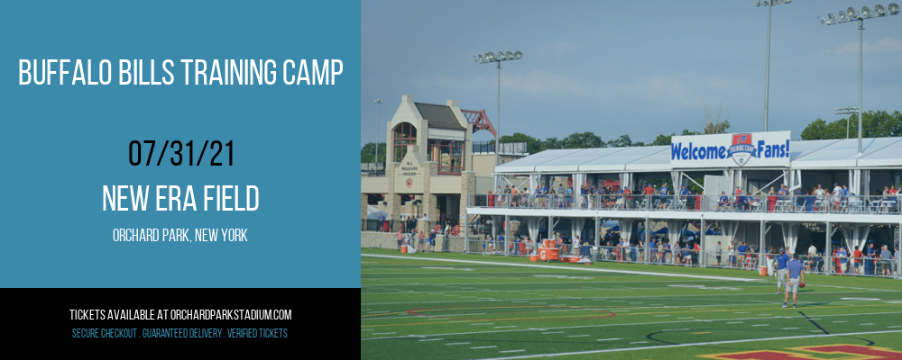 Buffalo Bills Training Camp at New Era Field
