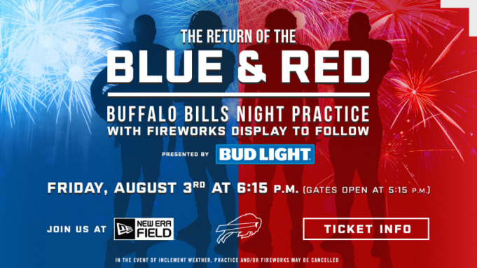 The Return of Blue and Red at New Era Field